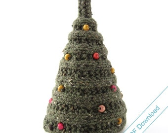 Christmas Tree Knitting Pattern PDF. Knit Your Own Tree.