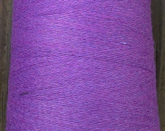 cashmere wool blend yarn 24 S/2 lace weight,  violet ,  5 oz ( 150 grams)