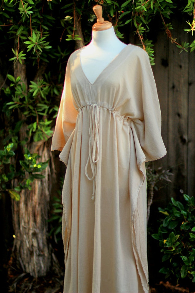 Caftan Maxi Dress Beach Cover Up Kaftan In By