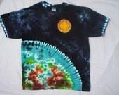 Childrens-Youth Medium Planet Tie Dye