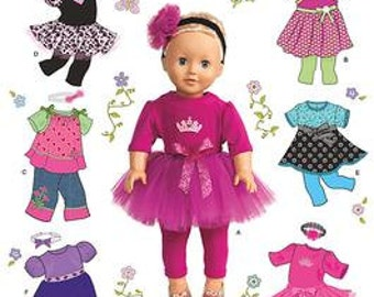 DOLL CLOTHES PATTERN / Make Clothes For American Girl Doll / Saige - McKenna- Chrissa - Julie - Marisol