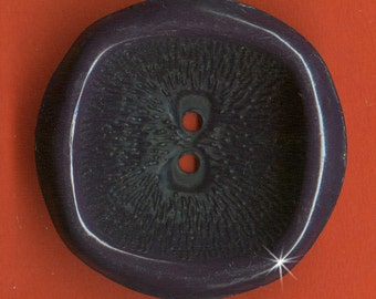 Vintage  Art Deco Fancy Deep Concave Coat 34mm Buttons AR3