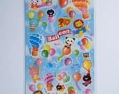 Kawaii Stickers - Balloon Animals - (BDA09)