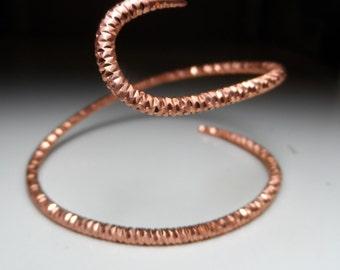 Snake spiral Armband
