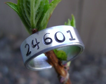 24601 Hand Stamped Ring