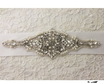 Wedding sash, Bridal belt , Bridal sash