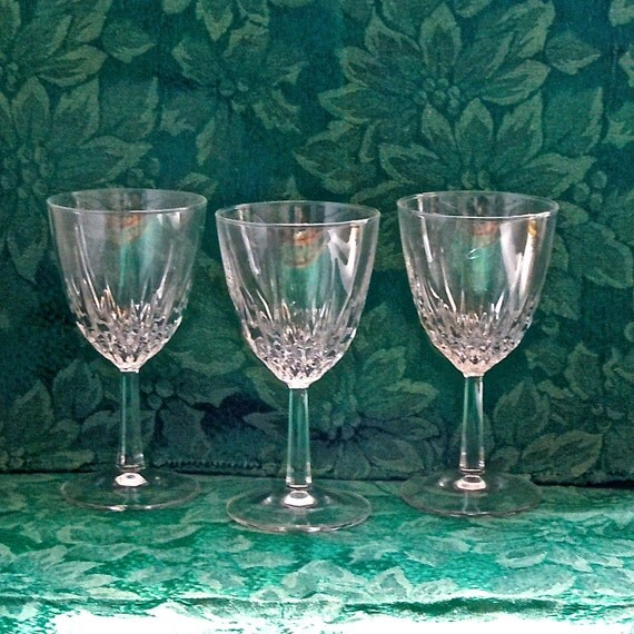 Cristal D Arques Wine Glasses