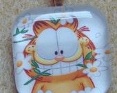 Garfield Glass Tile Pendant