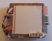 Travel Premade Mini Scrapbook Album