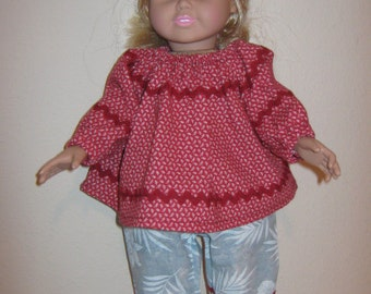 American Girl Pants and Blouse