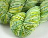 "DK Organic Merino ""Spring Fever"" Light Green, Yellow, Blue"