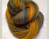 Squeak Handspun 2 Plied Light Fingering Weight Yarn 664 Yards