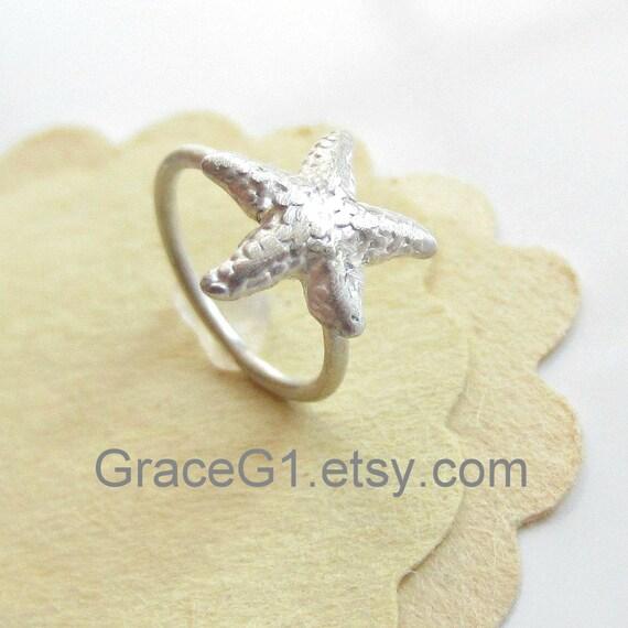 cc770eeb5 starfish rook earrings starfish cartilage earrings cartilage hoop Starfish  Cartilage Earrings