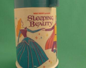 1970 Sleeping Beauty Plastic Thermos