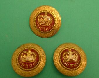 1953 Queen Elizabeth II Coronation Earrings and Brooch Kit