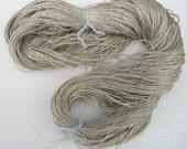 100% wild organic linen/flax yarn.  Natural color linen yarn. Belorusian jewel .