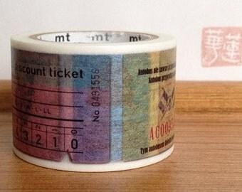 mt ex masking tape - single - tickets