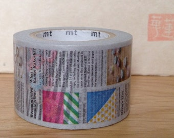 mt ex masking tape - single - newspaper
