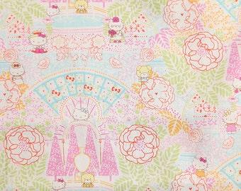 hello kitty x liberty - season 4 - limited print - Formal Garden - pink