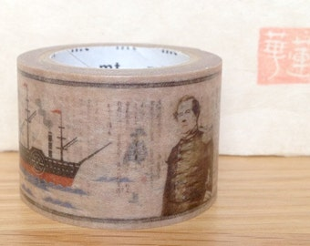 limited edition - mt ex shimoda - mt washi masking tape - Perry