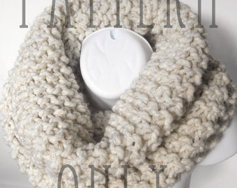 Knit Cowl Pattern - Cowl Knitting Pattern PDF for The DREAMER