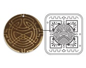 Sizzix DecoEmboss Folder - Celtic Weave - Vintaj - New April 2013 -