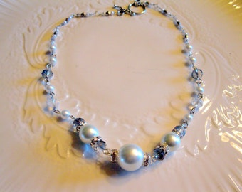The Countess Pearl Necklace British Abbey Inspired