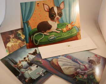 Chihuahua Greeting Cards / Ilona Cutts