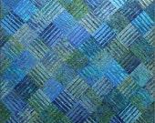 Underground Blues Quilt Pattern by Designs by JB - Janine Burke