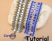 Tutorial Caroline SuperDuo&Tila Beadwork Bracelet PDF