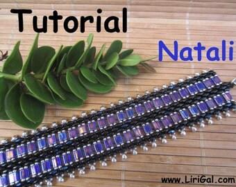 Tutorial Natali SuperDuo and Tila Beadwork Bracelet PDF