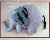 ELEPHANT sewing PATTERN - soft toy - baby toy - baby boy stuffed softie, MEH-53