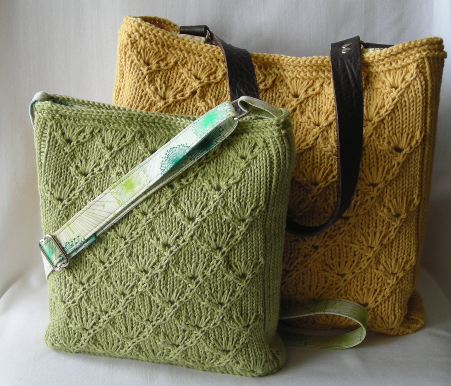 Knitted Shoulder Bag Patterns   Shoulder Travel Bag