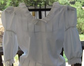Vintage White Blouse By Partners Please Square Dancing Blouse