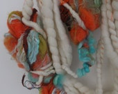 Handspun Blobby Yarn-4.4oz-18yds-Krishna