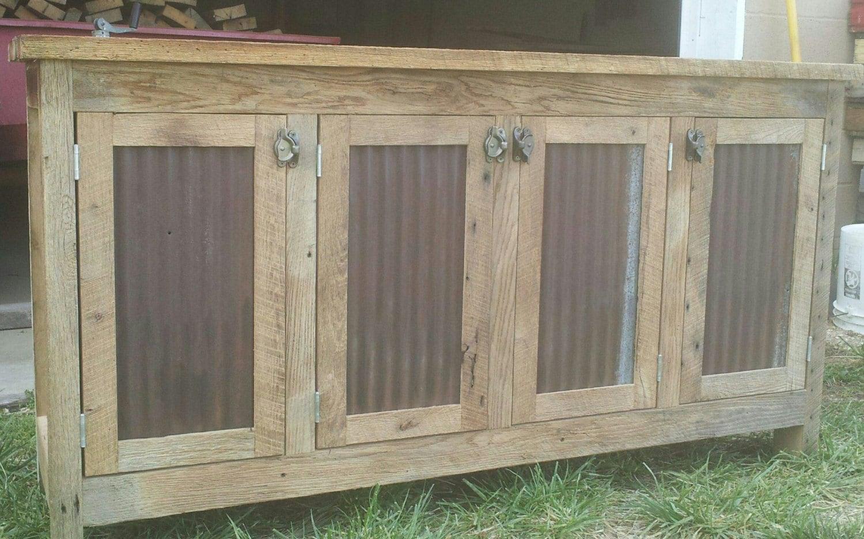 Your custom rustic barn wood credenza sideboard dresser