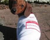 Barky Barkerson - Dog T Shirt - Size Small