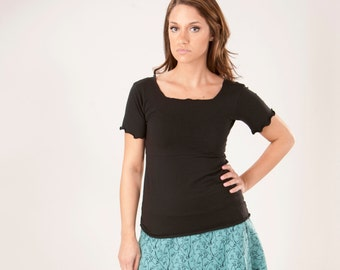 Sweet and Simple T Shirt - Organic Fabric - Choose Your Color