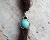 ADD to your DREADS Turquoise Dreadlock Bead Accessory Extension Accessories Feather Crystal Dread Boho Bohemian Hippie Silver Dangle