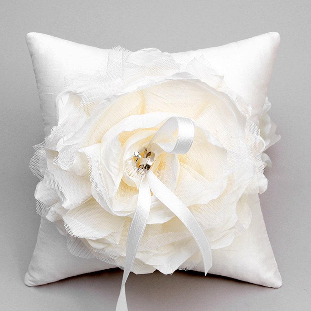 bridal ring pillow wedding ring zoom - Wedding Ring Pillow