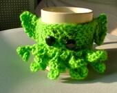 Crochet C'thulhu Coffee Cup Cozy
