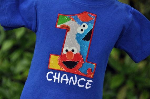 b2d19fca Unavailable Listing On Etsy Sesame Streets Elmo 1st 2nd Or 3rd Birthday  Boys T Shirt