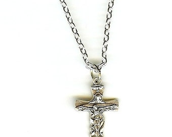 Necklace for Confirmation or First Communion w/Trinity FREE USA SHIPPING