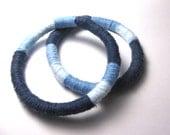 Custom Order for Robbin Blue Colorblock Bangles