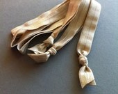 Elastic Headbands: Listing is for 3 nude headbands