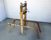 Antique Anchor Brand Clothes Wringer with Stand