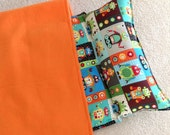 Personalized Nap Mat, Great for daycare, preschool or kindergarten. Padded. Rockin Robots
