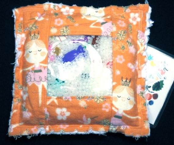 Children's toy I Spy Bag - Fairy Princess Rag I Spy Bags, eye spy game, educational toy, quiet game, travel toy, treasure hunt READY TO SHIP