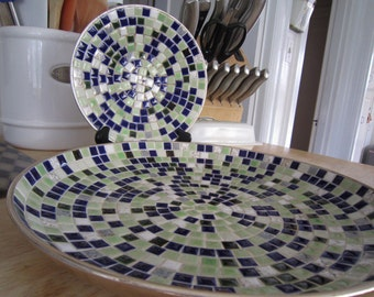 Mosaic Bowl Set Eames Era