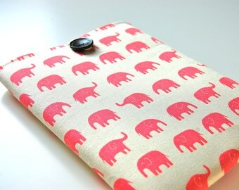"14-15.6"" Custom Laptop Case, MacBook Pro 15 inch Case MacBook Pro with Retina Display Sleeve - Pink Elephants"